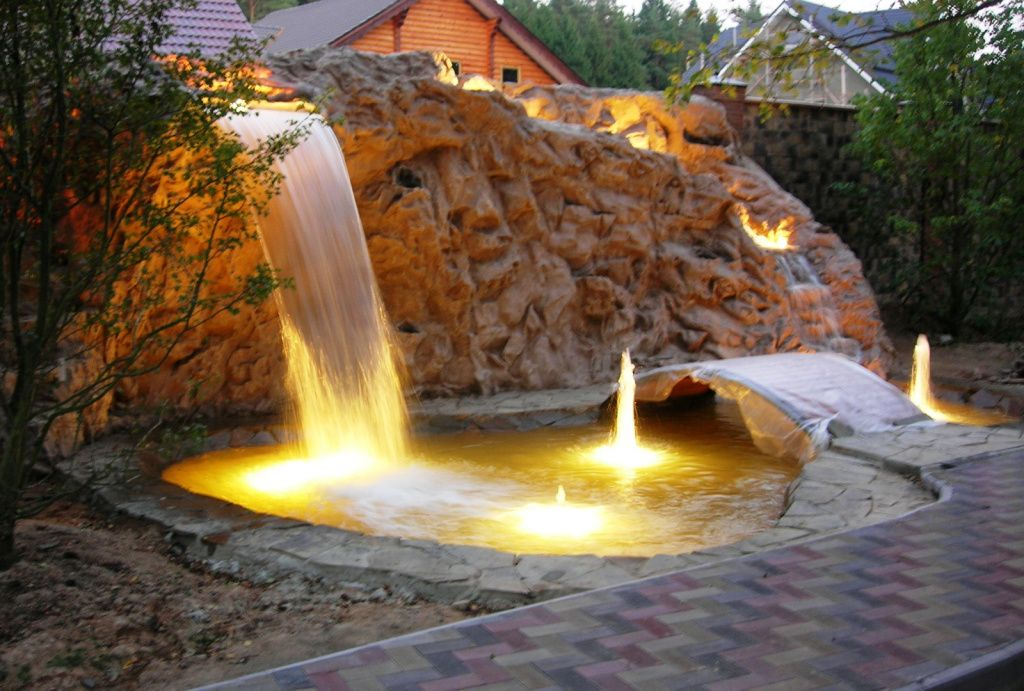 водопады для дома фото образом, любых делах